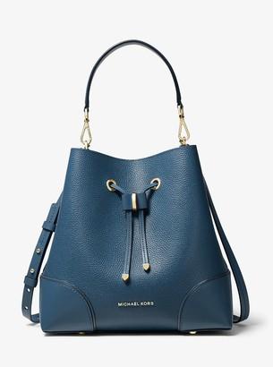 MICHAEL Michael Kors Mercer Gallery Medium Pebbled Leather Shoulder Bag
