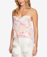 1 STATE 1.state Printed Cowl-Neck Camisole Top