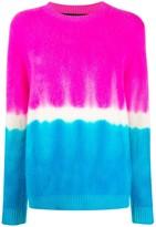 The Elder Statesman cashmere tie-dye jumper