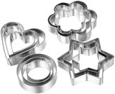 HOUSWEETY 12 Piece Stainless Steel Cookie Cutter Set