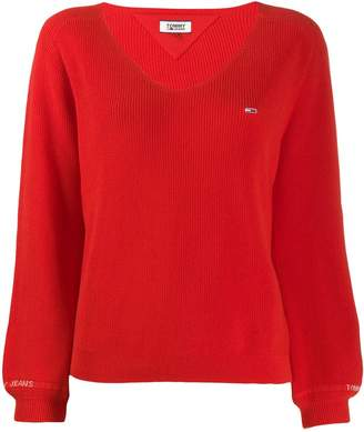 Tommy Jeans embroidered jumper
