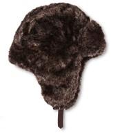 Mossimo Men's Faux Fur Trapper Brown One Size