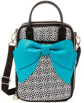 Betsey Johnson Bow Spot-Print Insulated Lunch Tote
