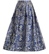 Mary Katrantzou Bowles Cards-jacquard midi skirt