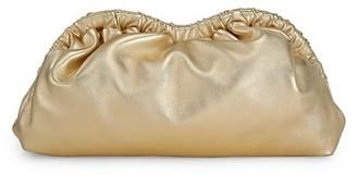 Mansur Gavriel Cloud Metallic Leather Clutch