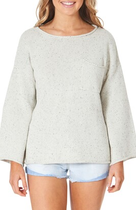 Rip Curl Surf Shack Nep Flecked Pocket Sweater