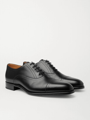 Dunhill Kensington Leather Oxford Shoes