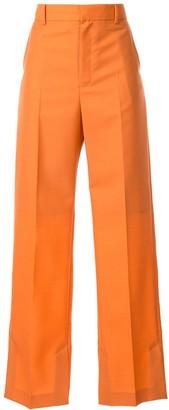 Irene High-Waist Pleated Trousers