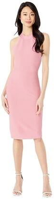 BCBGMAXAZRIA Bodycon Dress (Pink Rose) Women's Dress