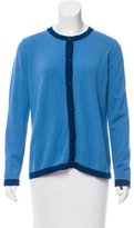 Malo Two-Tone Cashmere Cardigan
