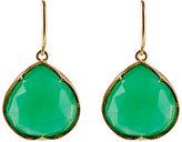 Irene Neuwirth Women's Gemstone Teardrop Earrings