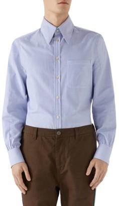 Gucci Vintage Cotton Striped Shirt