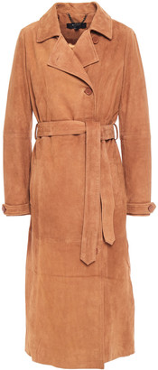 Muu Baa Muubaa Tiree Suede Trench Coat