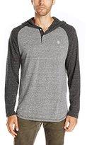 Element Men's Fundamental Long Sleeve Henley Shirt