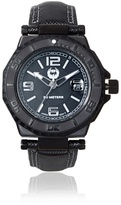 Brillier Men's 25-05 Hype Black Stainless Steel Watch