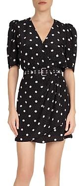 The Kooples Moonlight Dot Printed Dress