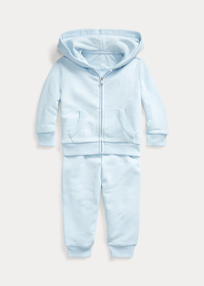 Ralph Lauren French Terry Hoodie & Pant Set