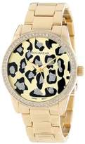 Rocawear Women's RL0110G1-046 Stylish Bracelet Enamel Bezel Watch
