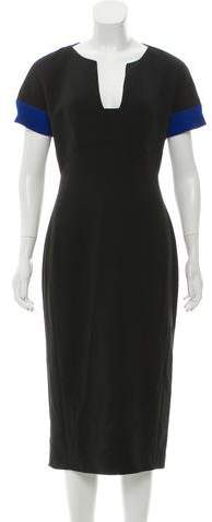 Antonio Berardi Short Sleeve Midi Dress w/ Tags