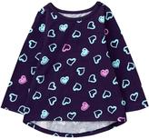 Gymboree Heart Peplum Tee