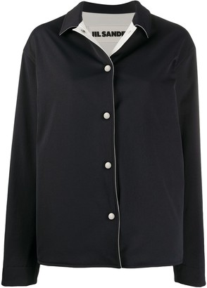 Jil Sander Point-Collar Boxy Jacket