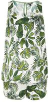 Topshop Maternity palm print pyjama set
