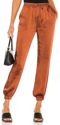 LPA Elastic Waist Pant with Leg Cuff