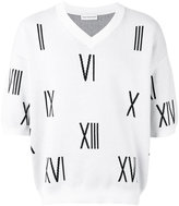Gosha Rubchinskiy 'Numbers' knitted top
