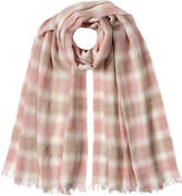 Polo Ralph Lauren Printed Scarf with Wool
