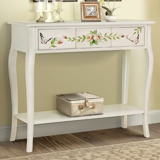 August Grove Sanger Hand-Painted Console Table