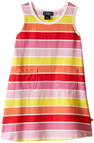 Toobydoo Tank Dress Multi Stripe (Infant/Toddler)