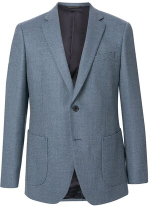 Durban Single-Breasted Fitted Blazer