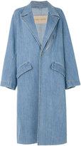 Christian Wijnants Citta denim coat - women - Cotton/Spandex/Elastane - 36
