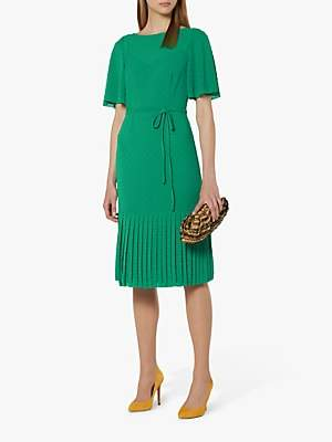 LK Bennett L.K.Bennett Boe Textured Spot Dress