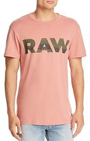 G Star Raw G-star Raw Logo Graphic 6 Tee