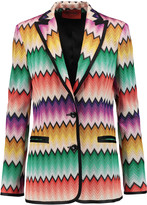 Missoni Crochet-knit jacket