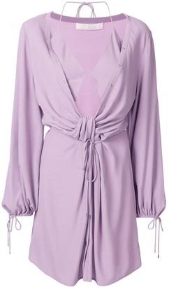 Dion Lee Twist Placket Tunic Dress