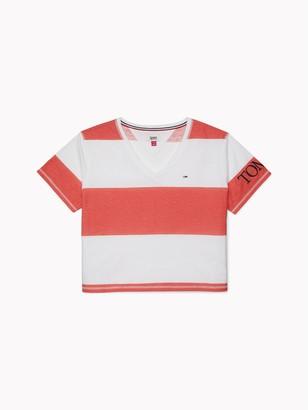 Tommy Hilfiger V-Neck Stripe T-Shirt