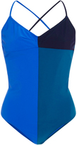Araks Emeline Tonal Blue One Piece Swimsuit