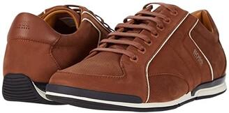 HUGO BOSS Saturn Low Profile Sneaker by Medium Brown) Men's Shoes