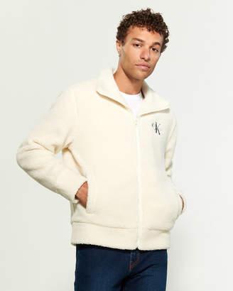 Calvin Klein Jeans Fleece Sherpa Jacket