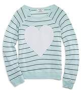 Wildfox Couture Girls' Striped Heart Tee - Sizes 7-14