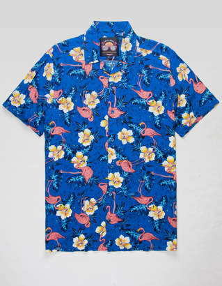 Flamingos Good Vibes By Drill GOOD VIBES Mens Shirt