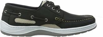 Quayside Sydney Men's Deck Shoe (Grey 9)