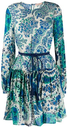 Twin-Set Paisley Print Dress