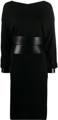 Tom Ford Belted Midi Dress