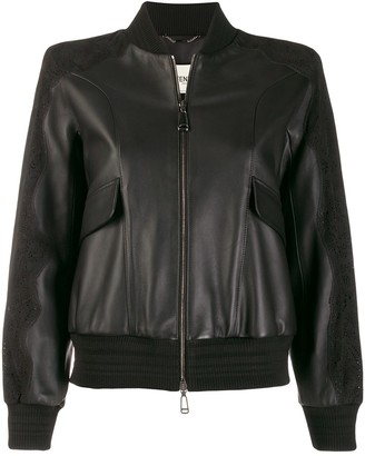 Fendi cropped bomber jacket