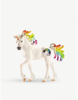 Selfridges Balaya Rainbow Unicorn foal toy