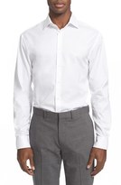 Armani Collezioni Men's Slim Fit Twill Dress Shirt