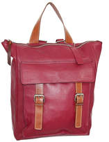 Nino Bossi Handbags Women's Backpacks Cabernet - Cabernet Ainsley Leather Backpack